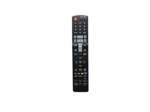 Controle remoto de substituição HCDZ para LG AKB73775804 LHB326 Blu-ray DVD Home Theater System