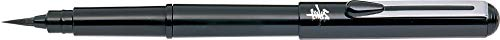 Pentel-Penna stilografica, colore: nero