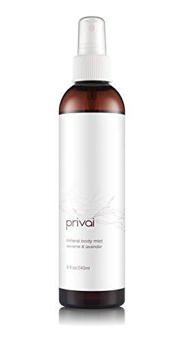 Privai Body Mist, 8 fl oz, Refresh, tone, hydrate, infused with epsom salt, lavendar and verveine