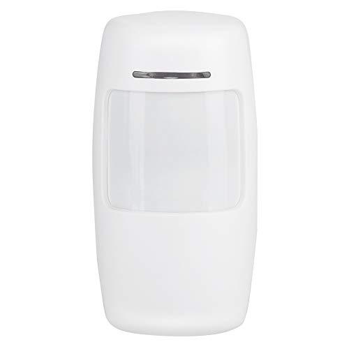 Eboxer 433 MHz WiFi GSM inbraakalarminstallatie Wireless PIR bewegingsmelder 100-240 V WiFi-alarmsysteem, wit