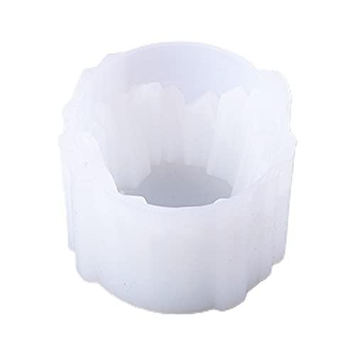 Caja de Almacenamiento de epoxi de Cristal MUY Molde de Resina Artesanía Herramienta de fabricación de Adornos Portavelas Molde de Silicona Caja de Recuerdo Día de San Valentín para Mujeres