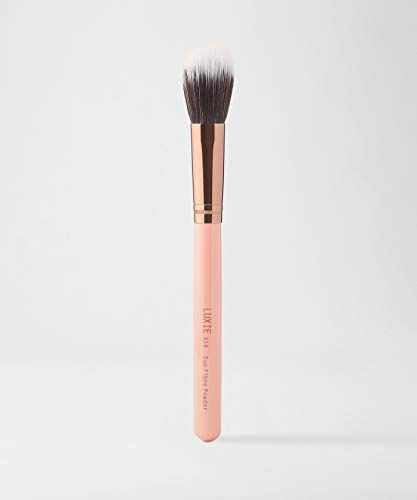 Luxie 516 Duo Poudre Fibres Or Rose