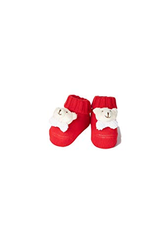 Ivory Babyschuhe 42418 0/6 Monate - Made in Italy, Mehrfarbig 0-3 Monate