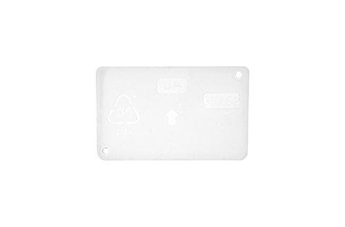 raaco 101981 Trennwand 150-0 (1Sa=60) Quertrennwand 32x52 für Stahlmagazine, Transparent