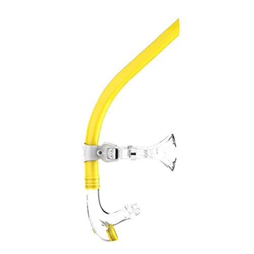 fedsjuihyg Snorkel Nadar Tubo de respiración Nadador de Snorkel Snorkel para la natación Buceo Deportes de Agua Amarilla