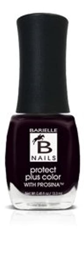 哀れなエスカレーター呼びかけるBネイルプロテクト+ネイルカラー(プロッシーナ) - ブラックローズ