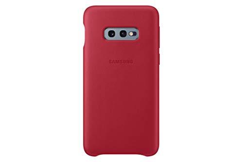 Samsung Leather Cover, funda oficial para Samsung Galaxy 10e, color amarillo
