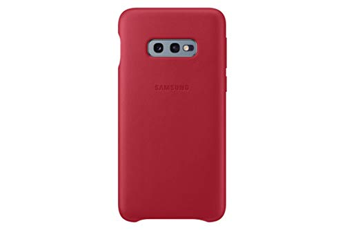 Leather Cover für Galaxy S10e Rot