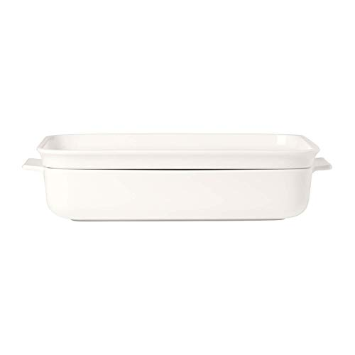 Villeroy & Boch Moule, Porcelaine, Blanc, 2 unités ,34 x 24 x 7,2 cm