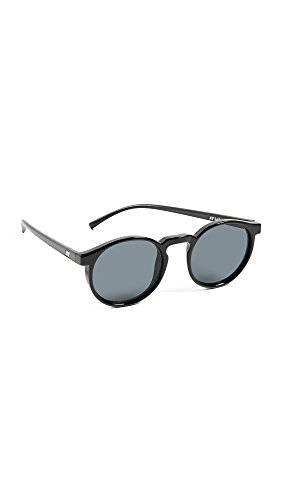Le Specs Mujeres gafas de sol de deux espíritu adolescente Negro única Talla