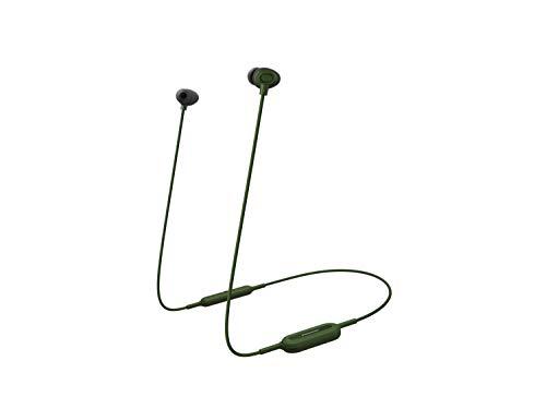 Panasonic In-Ear Kopfhörer Bluetooth RP-NJ310BE-G (6 h Akkulaufzeit, Quick-Charge, Sprachsteuerung, Kopfhörer wireless) grün