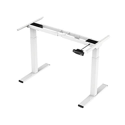FLEXISPOT E2W Height Adjustable Electric Frame Only Solid Steel...