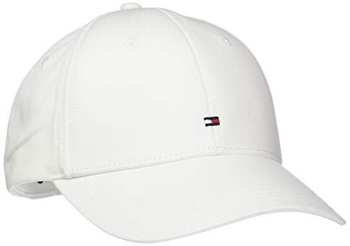Tommy Hilfiger Herren Baseball Cap CLASSIC BB, Gr. One size, Weiss (CLASSIC WHITE 100)