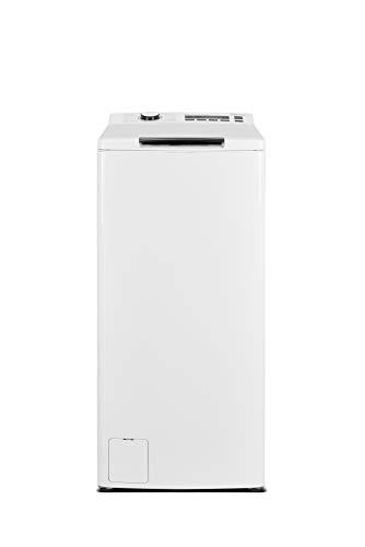 Midea Toplader Waschmaschine TW 7.83i diN / 8 KG Fassungsvermögen/Trommelreinigung/Energieeffizienzklasse A+++ / 1300 U/min/Soft Opener, Weiß