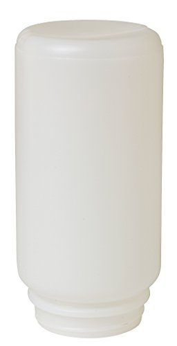 Little Giant Screw-On Poultry Jar (1 Quart) Heavy Duty Translucent Plastic Container for Waterer or Feeder (Item No. 690)