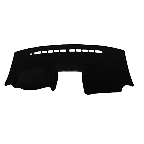 MIOAHD Cubierta de Tablero de Silicona Antideslizante, Apta para Suzuki SX4 Todos los años con Caja de Almacenamiento Cubierta de Tablero de Tablero de automóvil Alfombra de Alfombrilla de Tablero