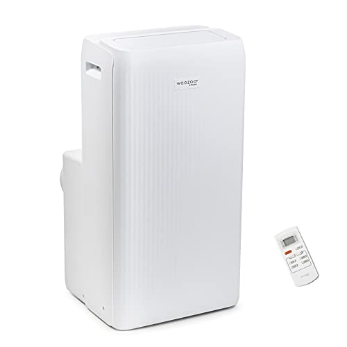 Iris Ohyama, Condizionatore portatile reversibile, Riscaldamento, Deumidificatore, Ventilatore, 12000BTU/h, 3520 W, Timer, Telecomando, [Classe A/A+] - Portable Air Conditioner IPE-1221GH - Bianco