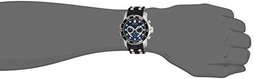 Invicta Men's 6977 Pro Diver Collection Chronograph Black Dial Black Polyurethane Watch