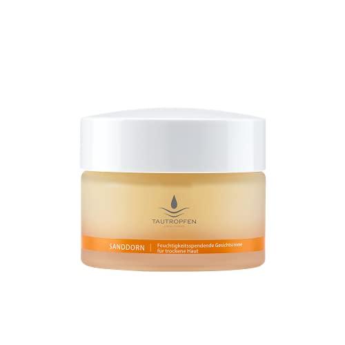 Nourishing/Sanddorn, Feuchtigkeitsspendende Gesichtscreme für trockene Haut