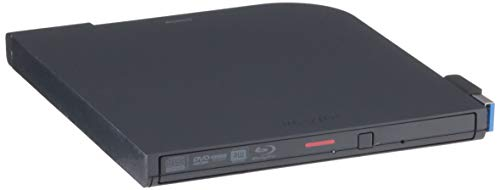 BUFFALOUSB3.2(Gen1)/3.0ブルーレイドライブ書込みソフトバスパワー(給電ケーブル付)外付け薄型ポータブルBD国内メーカーWin/MacBRXL-PTV6U3-BK/N