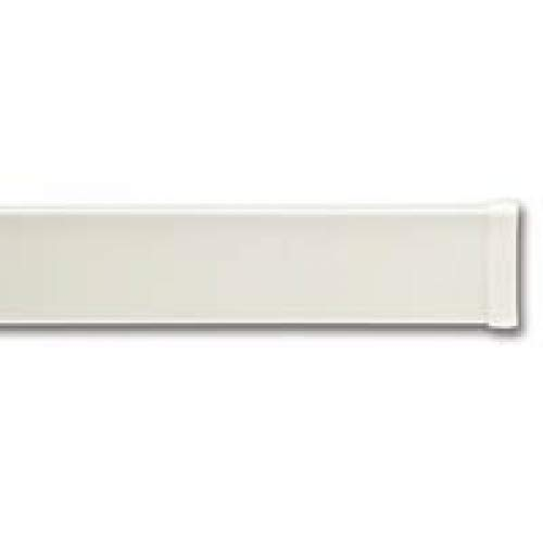 Graber 2 1/2-Inch Spring Tension Dauphine Curtain Rod, 50 to 72-Inch Adjustable Width, White