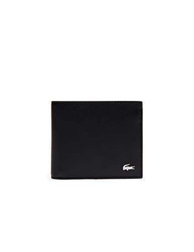 Lacoste NH1112FG, Monedero para Hombre, Black (Black), 9.5 x 3 x 11.5 cM