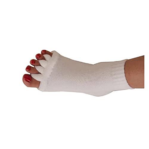 chaussettes pour les femmes Cinq orteils Séparateurs Chaussettes Hallux Valgus Correcteur Correcteur Bunion Soins des pieds Soins Orthopédiques Soins Orthopédiques Chaussettes pour -30 chaussettes d'o