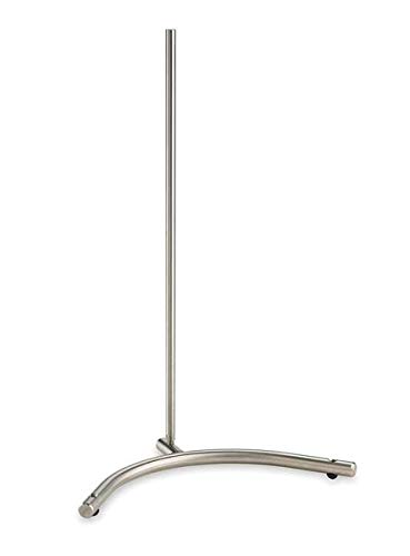 "OHAUS CLR-STRODS091 Support Stand with 36"" Rod, Stainless Steel"