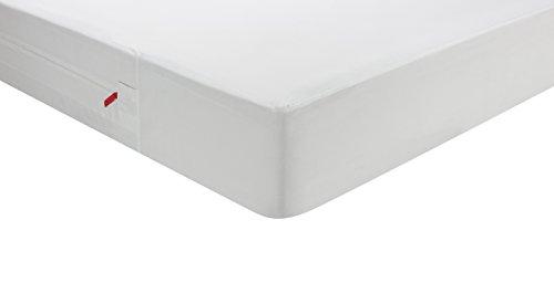 Pikolin Home - Housse de matelas intégrale anti punaises de lit, imperméable et respirante. 90x190/200cm-Lit 90
