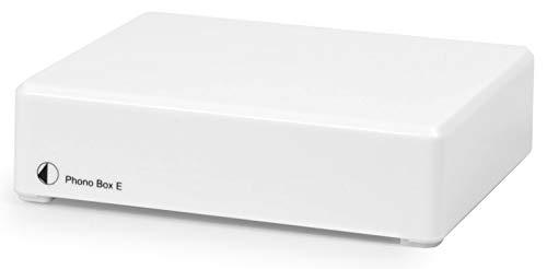 Pro-Ject Phono Box E, Hi-Fi Moving Magnet Phono Stage (White)