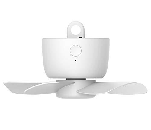 Plafond ventilatoren opladen Kleine USB Huishoudelijke Muggen Netto Ventilator Student Slaapzaal Bed Stille Mini Kleine Afstandsbediening Elektrische Ventilator