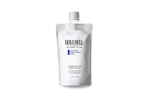 エッセンシャル保湿ウォッシュ 120g HOLOBELL(ホロベル)男性用 メンズ 洗顔料 フォーム(メンズ スキンケア)フェイスケア (単品)