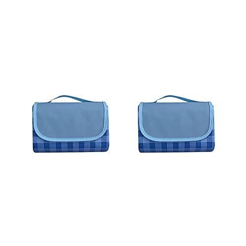 KUCONGST 2 unids manta de picnic grande estera senderismo accesorios camping Mat ligero al aire libre portátil alfombra