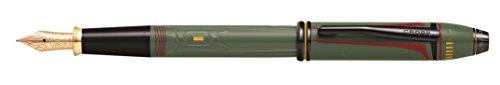 Cross at0046d-51md penna stilografica M Townsend Star Wars Boba Fett in confezione regalo