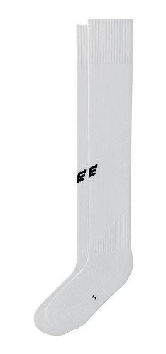 Erima - Calze da Calcio per Bambini, Bianco (Bianco), 29-32