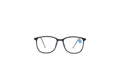 老眼鏡 おしゃれ ブルーライトカット老眼用 UVカット 紫外線99%カット メガネ ブルーライト 反射防止コーティング 輻射防止 視力保護 睡眠改善 高級感 男女兼用 (� 銀, 3.50)