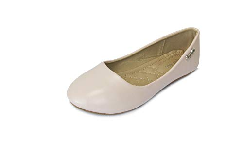 Frentree Klassische Damen Ballerinas Schuhe(nehmen Sie eine Nummer größer als Vorschlag), Farbe:pink, Größe:37
