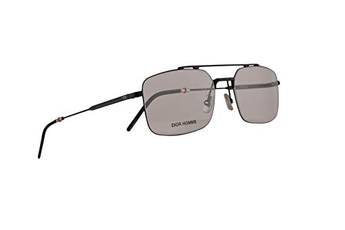 Dior Christian Homme Dior0230 Gafas 55-18-150 Negro Mate con Lentes de Muestra 003 0230