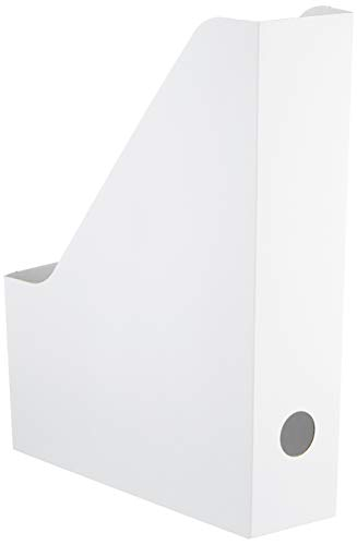 Ikea Fluns IKE-003.241.32 - Revistero en color blanco, 4 unidades
