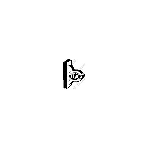 Bosal 255-313 Butée élastique, silencieux