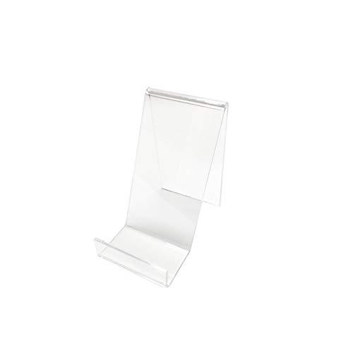 Präsentationsständer/Fuß-Werkbank und Schaufenster Schutzhülle iPhone Smartphone Zubehör Telefonie Tablet Plexiglas transparent
