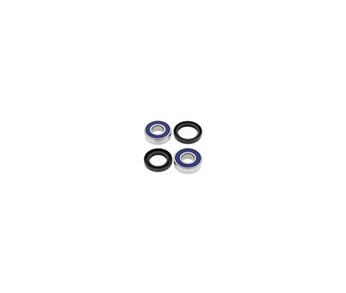 Compatible avec 650 77/80 / KZ 1000 77/80 Kit ROULEMENTS DE Roue AVANT-25-1221