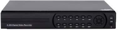 HYBRIDVR4 - HVR (DVR+NVR) 4CH VIDEO/AUDIO 960H@100FPS, INTERNET ONE CLICK, COMPATIBILE ONVIF, HDMI
