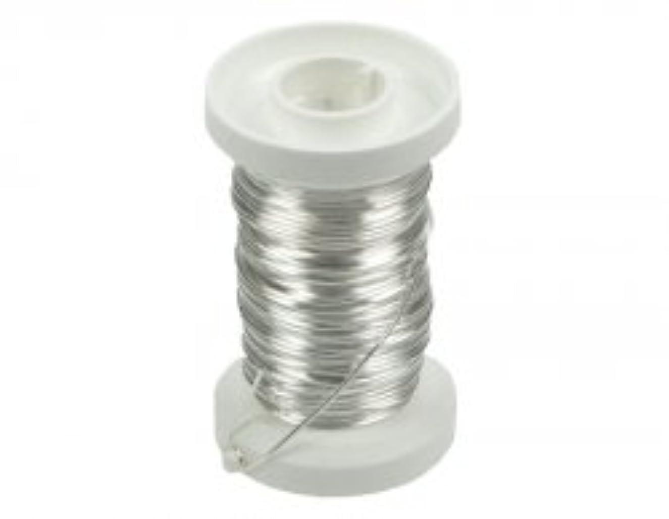 Glorex Silver Wire 0.6?mm x 15?m Silver Plated Copper Core Wire Silver 9?x 8.69?x 3.2?cm