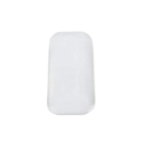 Silicone Extension de cils Pad Eye Lash Glue Stand Titulaire Plateau - Rectangulaire Transparent