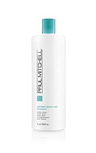 Paul Mitchell Instant Moisture Shampoo - feuchtigkeitsspendende Haarwäsche, Pflege-Shampoo ideal für trockene Haare, 1000 ml