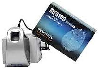 Mantra MFS 100 Fingerprint Scanner with USB and OTG (Gray)