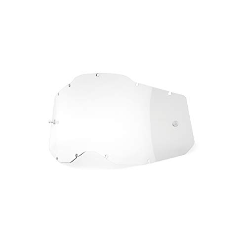 100% Goggle Replacement Lens - RC2/AC2/ST2 Compatible (Clear)