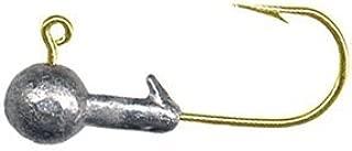 ARKIE Un-Painted Ball Head Jig - Gold Hook - 1/8oz