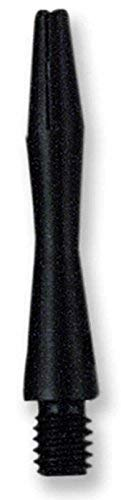 US Darts - Black Aluminum Dart Shafts - 3 Sets (9 shafts), 2BA Ex-Short (1 1/4 inch), O'rings